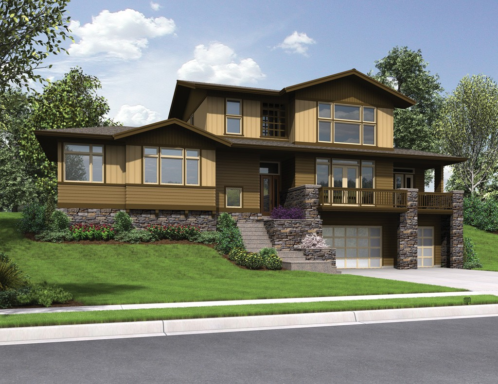 House Plan 22197 The Renicker