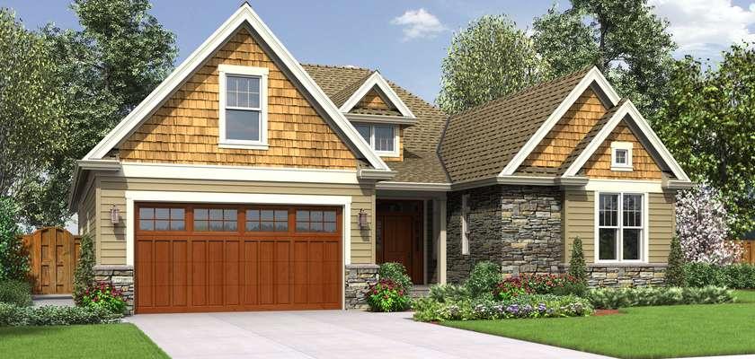 Mascord House Plan 22198: The Cotswolder