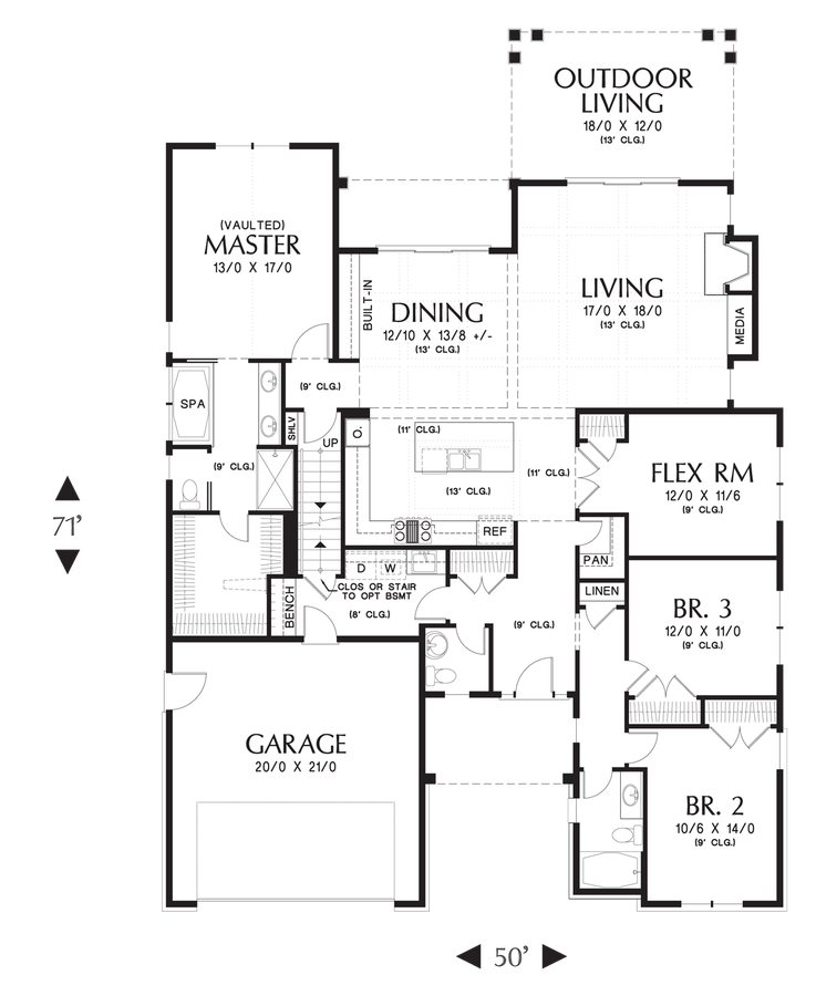 Extended family home floor plans for Houseplans co