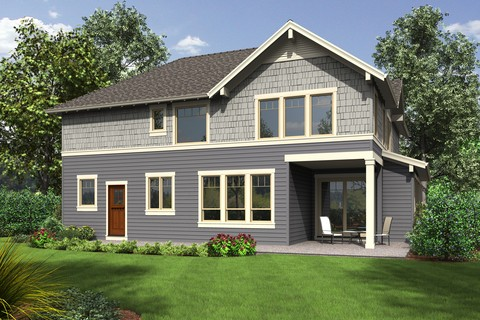 Image for Hood River-Amenity Rich NW Craftsman Plan with Small Footprint and Huge Personality-6439