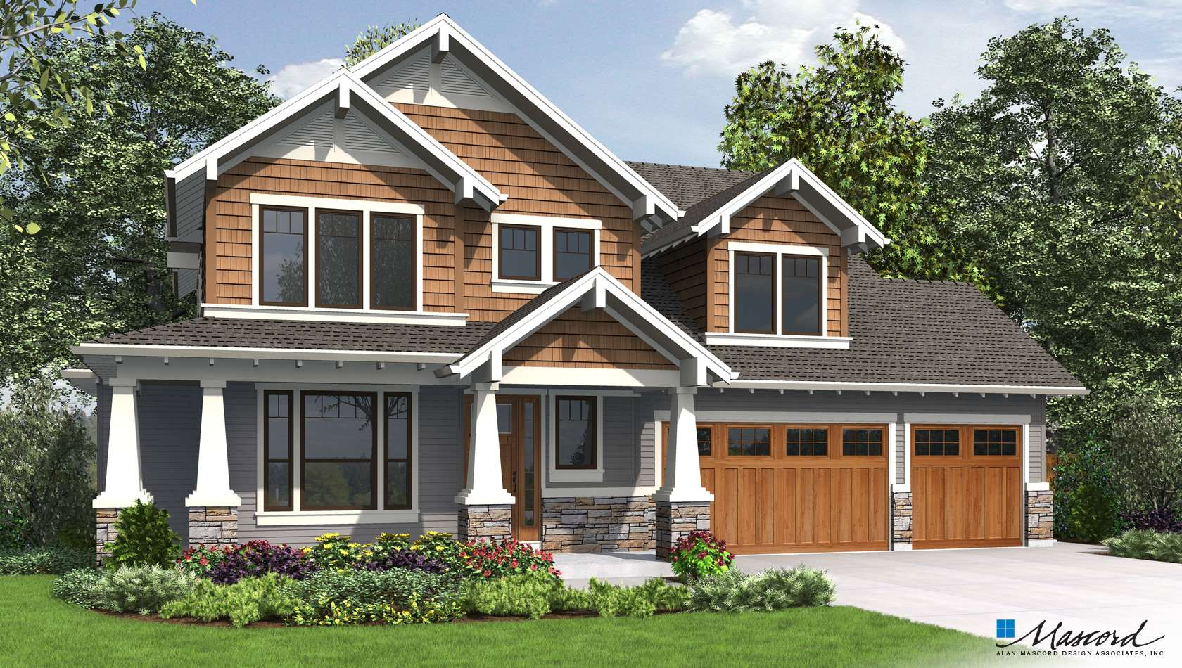Main image for house plan 22199A: The Jefferson