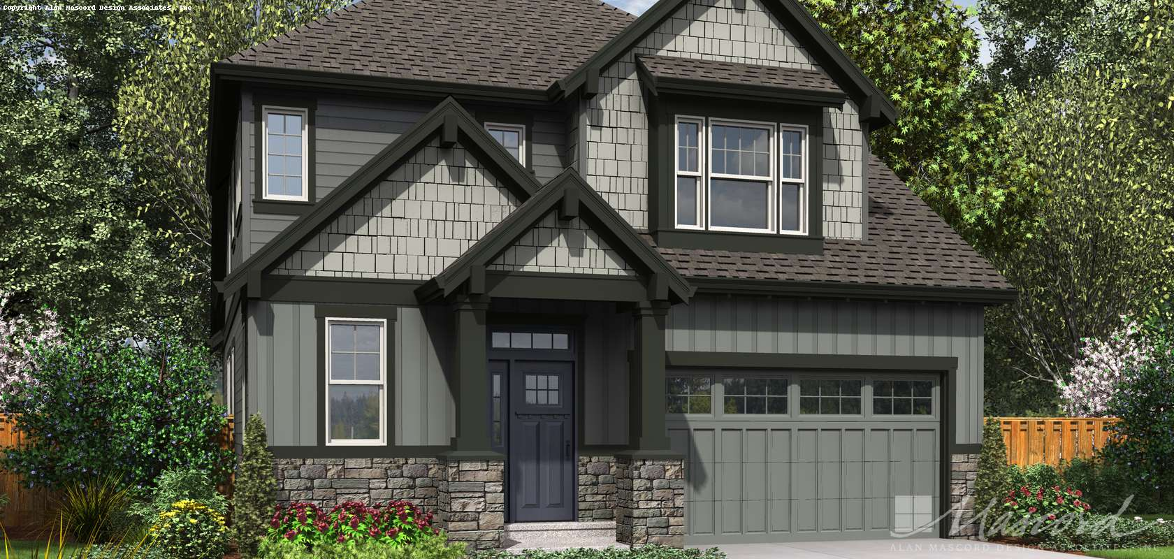 Mascord House Plan 22200A: The Yaquina