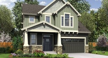 House Plan 22200: The Freewater  | The Freewater: Spacious Narrow House Plan with Craftsman Charm