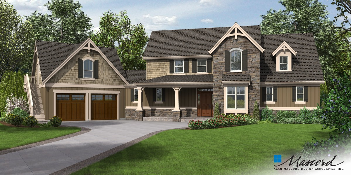 Mascord house plan 22201 the hartford for The hartford house
