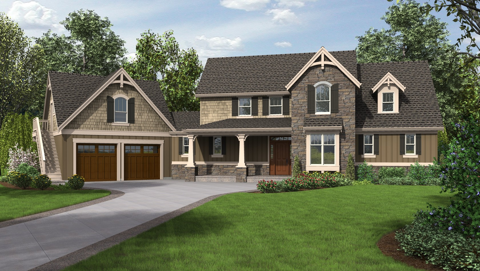 Main image for house plan 22201: The Hartford
