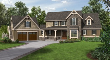 Traditional House Plans 22201: The Hartford  | The Hartford: Traditional Home Plans Perfect for Families
