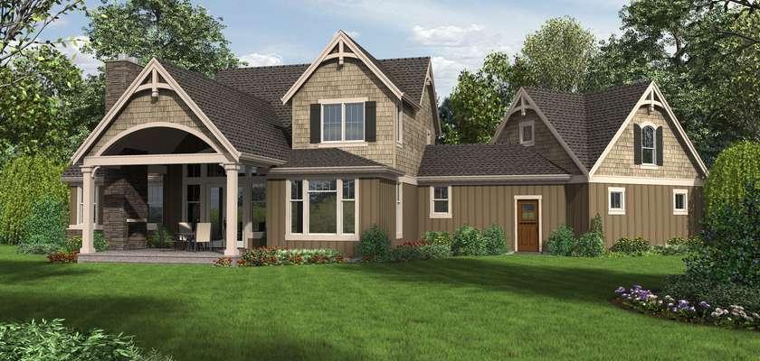 Mascord House Plan 22201: The Hartford