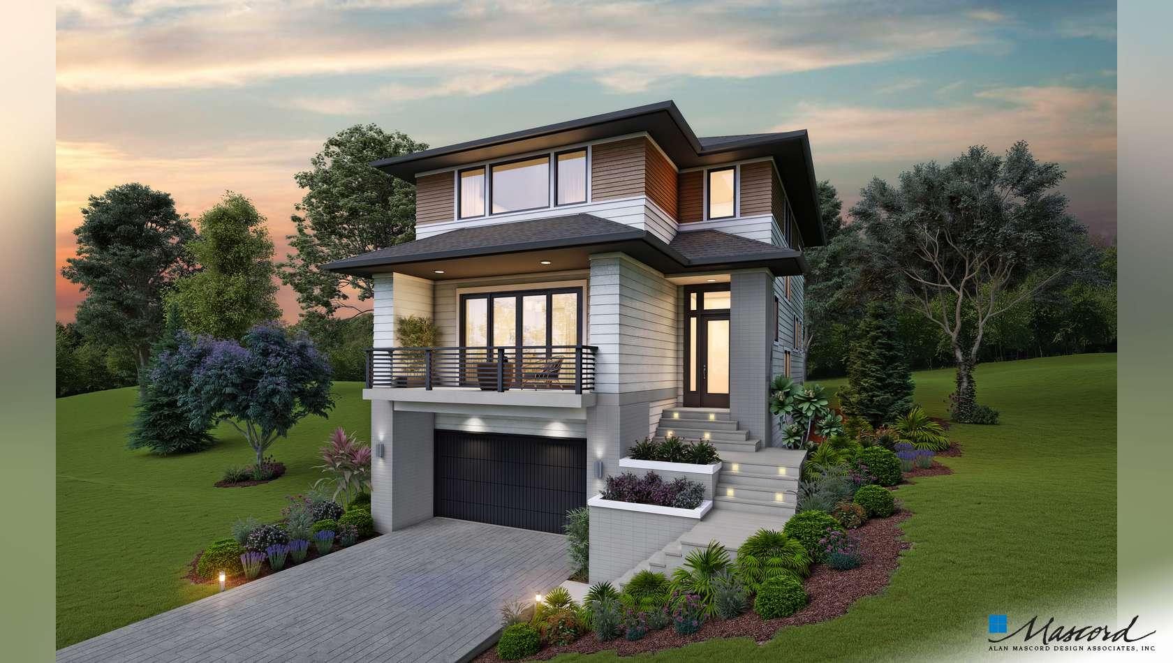 Main image for house plan 22202: The Bingley