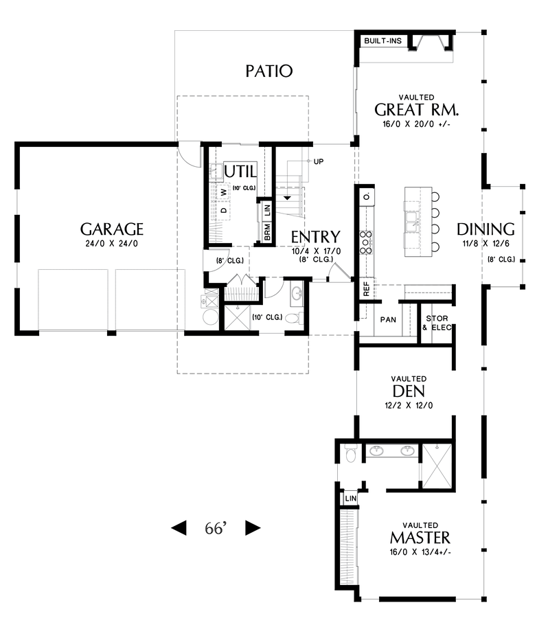 Image for Albright-A home that's all about streamlining your life-Main Floor Plan