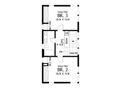 Image for Albright-A home that's all about streamlining your life-Upper Floor Plan
