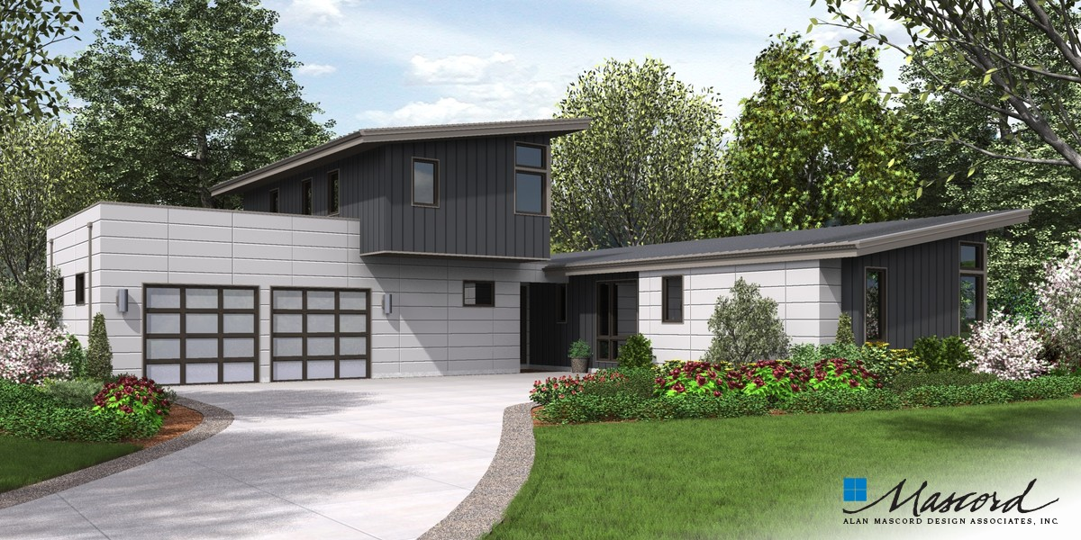 Image for Albright-A home that's all about streamlining your life-Front Rendering