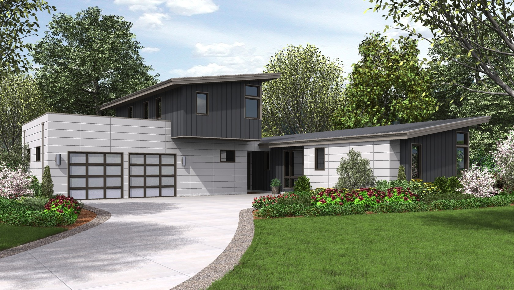 Main image for house plan 22207: The Albright