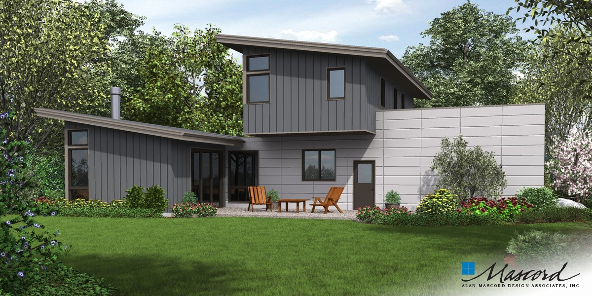 Image for Albright-A home that's all about streamlining your life-Rear Rendering
