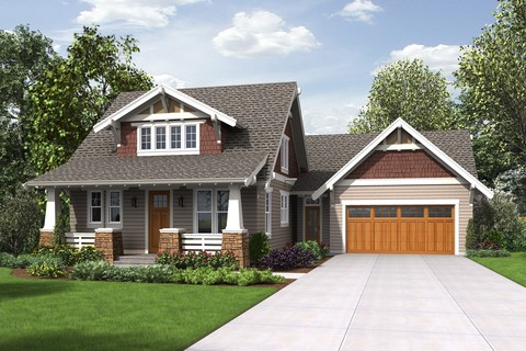 Image for Davidson-Traditional Craftsman Home with Modern Design-8353
