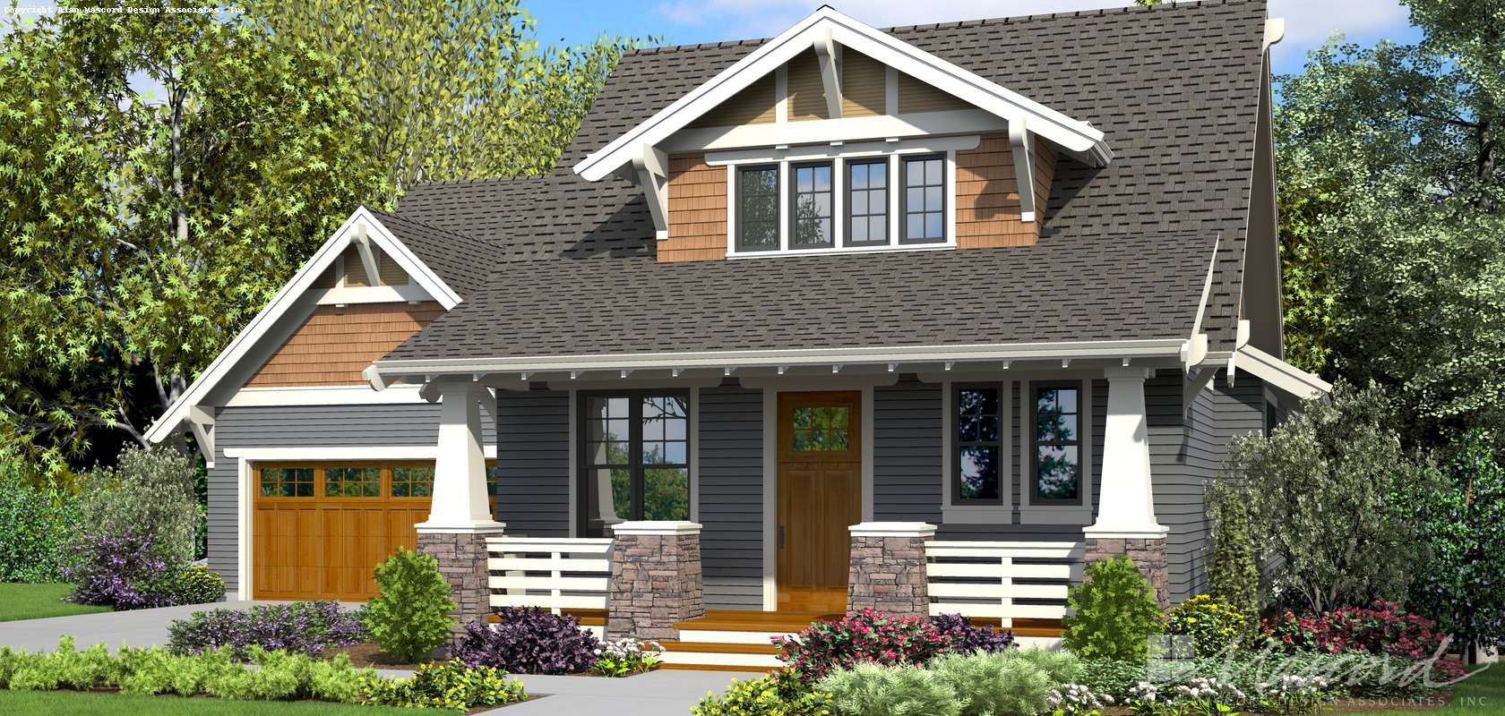 Mascord House Plan 22208B: The Darcy