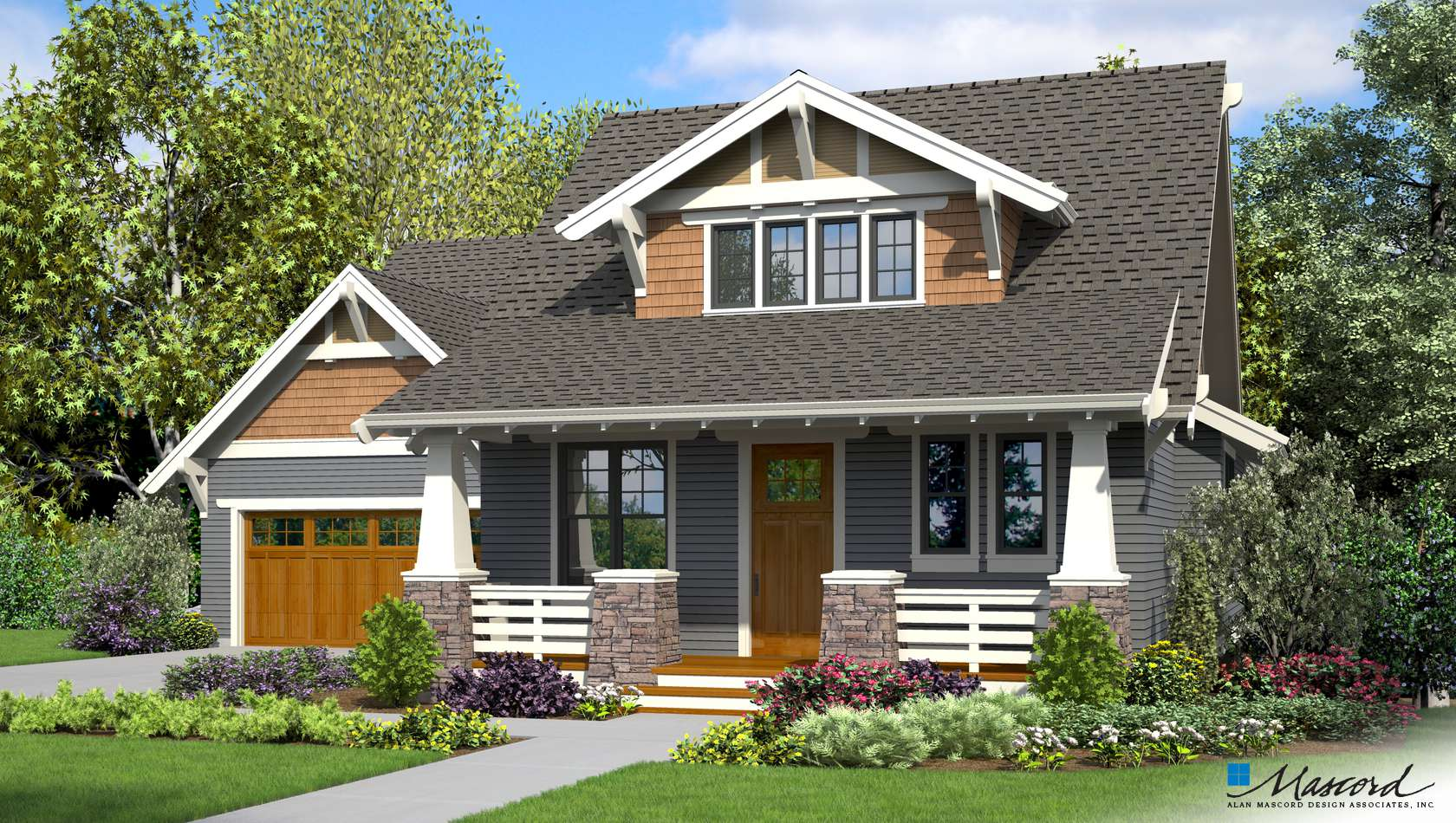 Main image for house plan 22208B: The Darcy