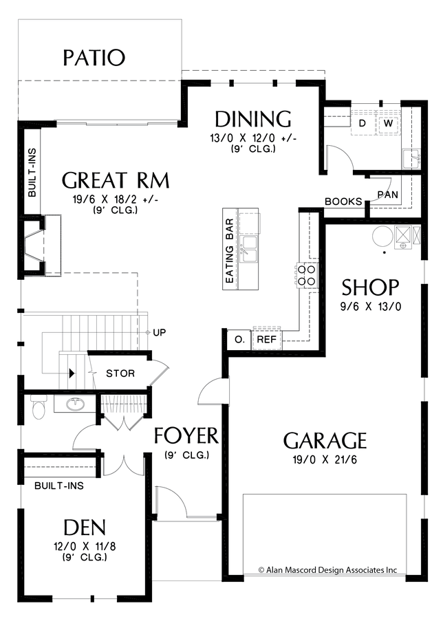 Image for Golden-Sophisticated Look Outside, Smart Design Inside-Main Floor Plan