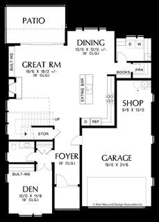 Image for Golden-Sophisticated Look Outside, Smart Design Inside-Main Floor Plan