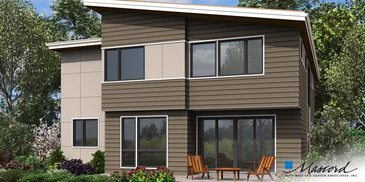 Image for Golden-Sophisticated Look Outside, Smart Design Inside-Rear Rendering
