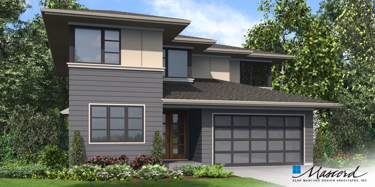 Image for Robertson-Beautiful Contemporary Suited to Narrow Lots -Front Rendering