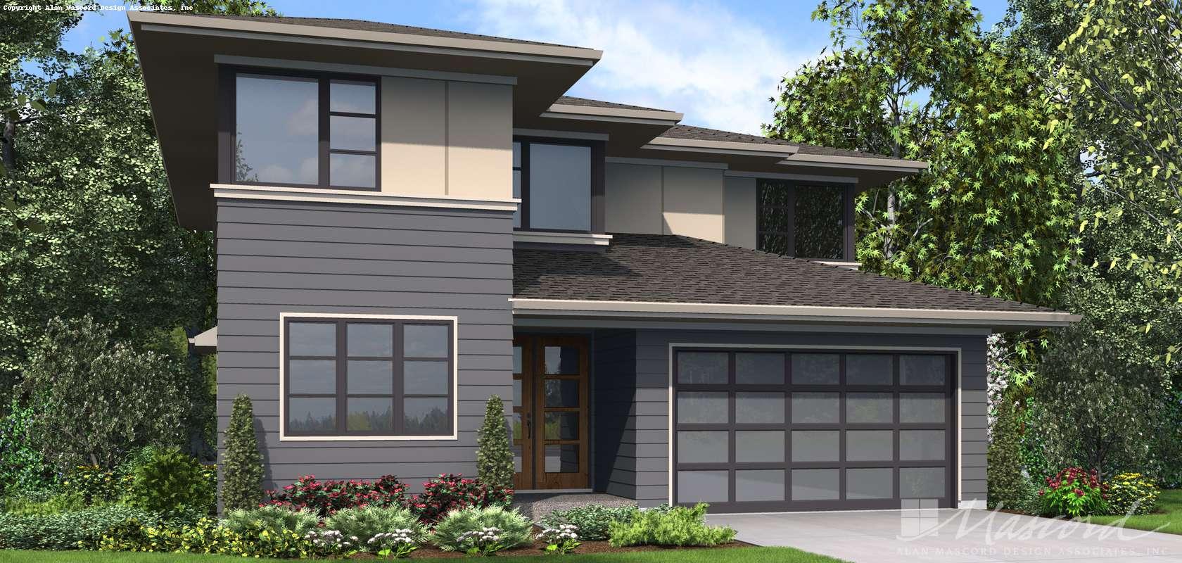 Mascord House Plan 22209A: The Robertson