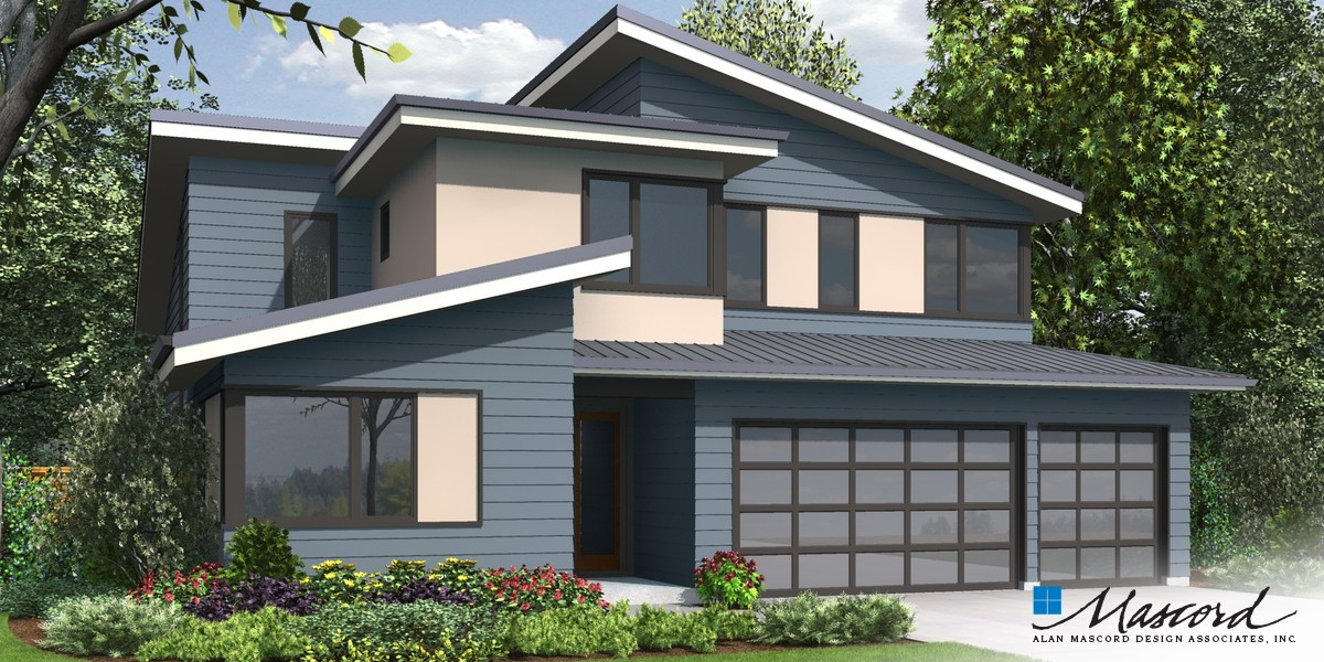 Image for Sweetwater-Artful Home with Flexible Spaces-Front Rendering