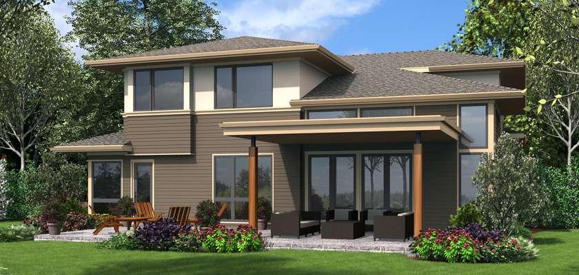 Mascord House Plan 22210A: The Carroll