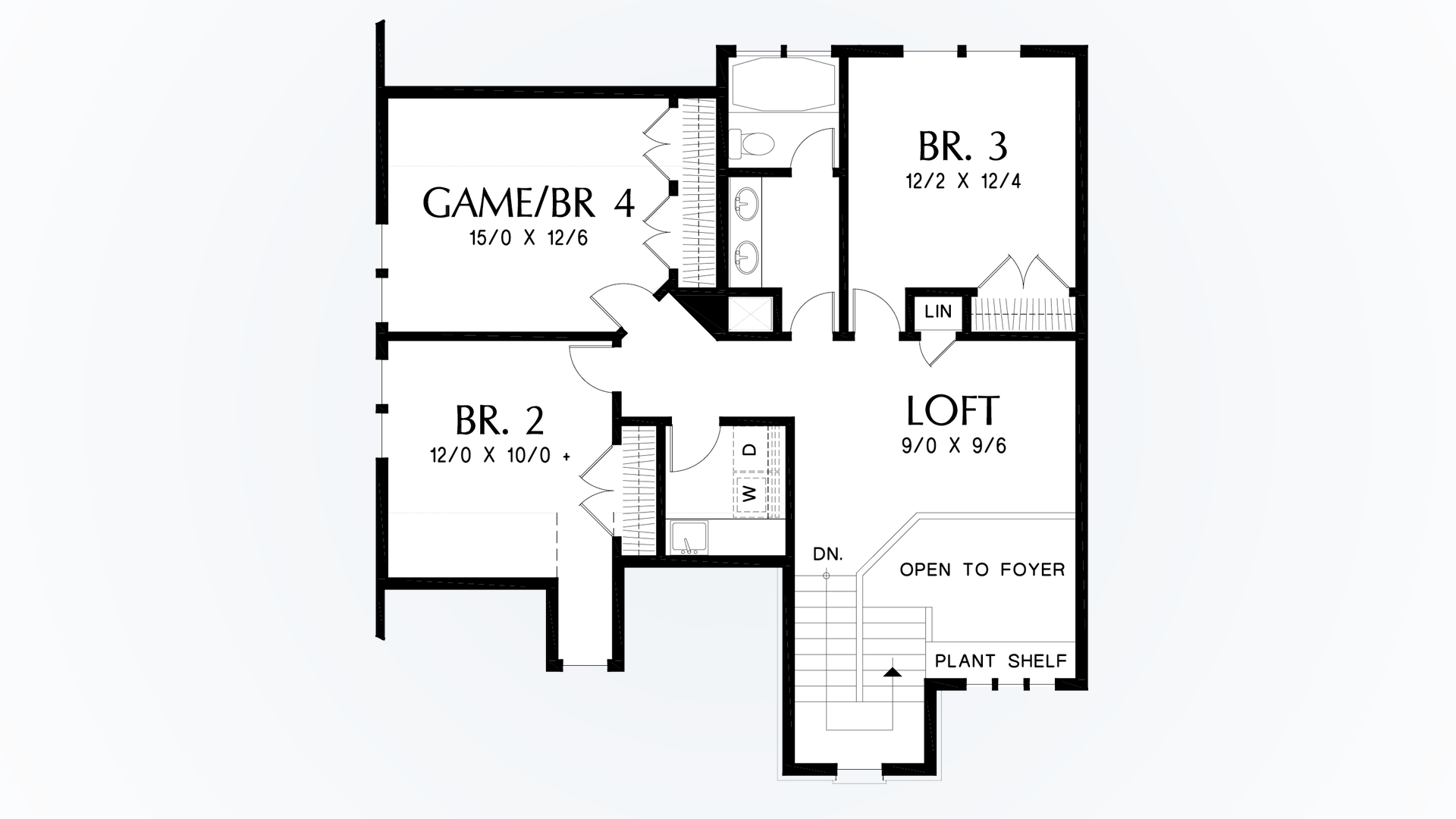 mascord house plan 22211 the oakshire