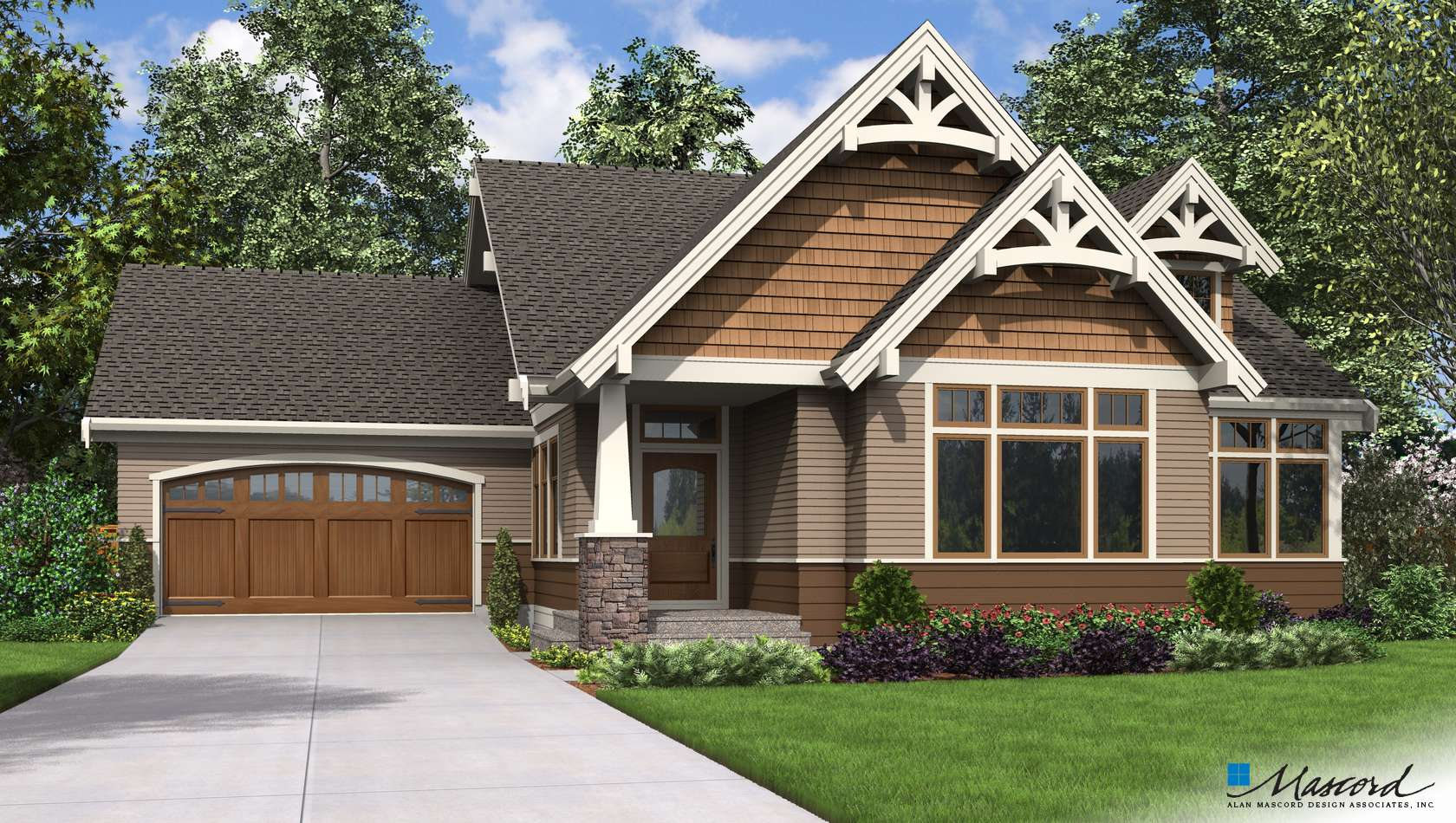Main image for house plan 22212: The Selma