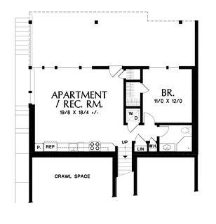 Image for Renard-Home fit for a Captain!  Design featured on hit TV show Grimm-Lower Floor Plan