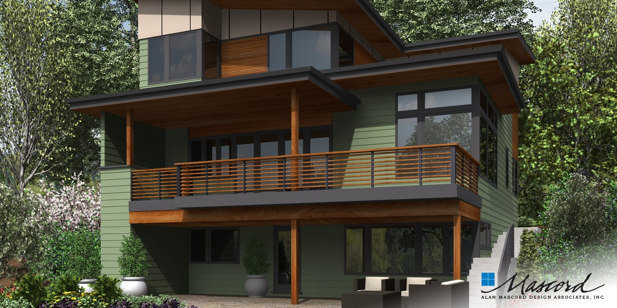 Image for Renard-Home fit for a Captain!  Design featured on hit TV show Grimm-Rear Rendering
