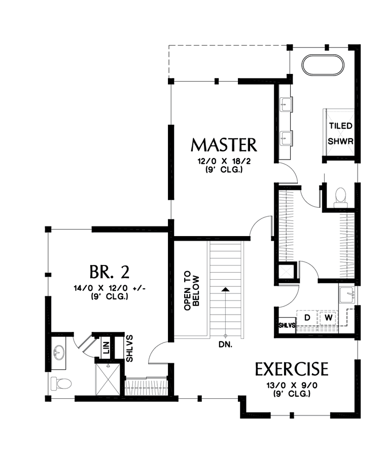 Image for Renard-Home fit for a Captain!  Design featured on hit TV show Grimm-Upper Floor Plan