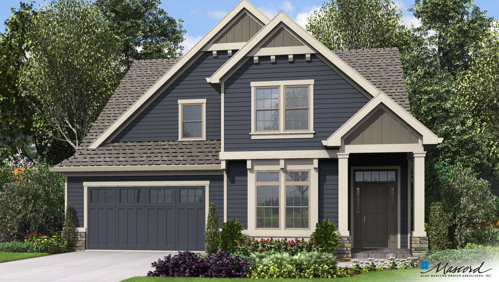 Main image for house plan 22215: The Sinise