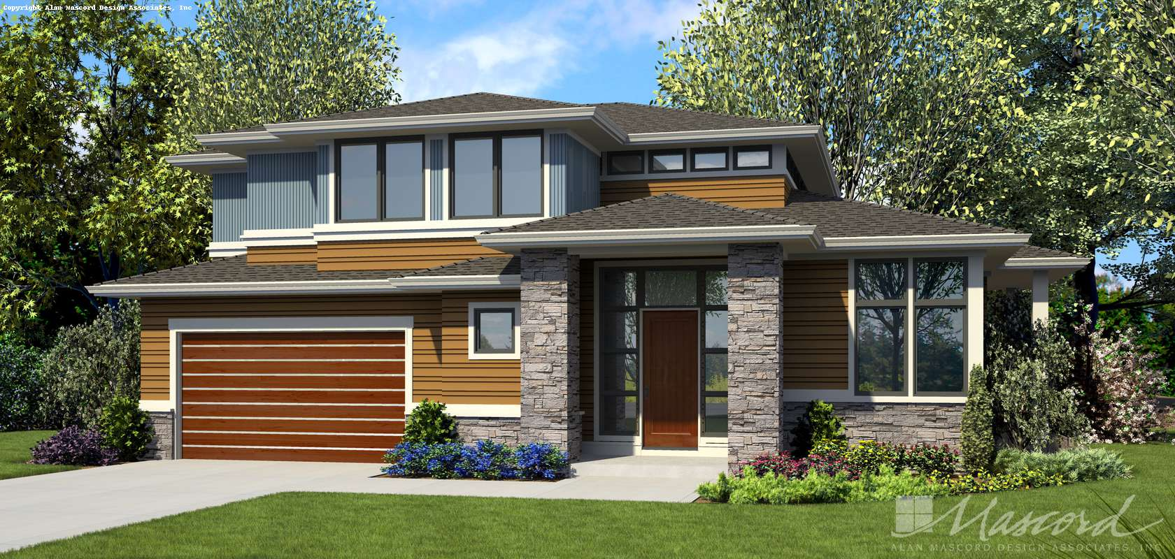 Mascord House Plan B22217: The