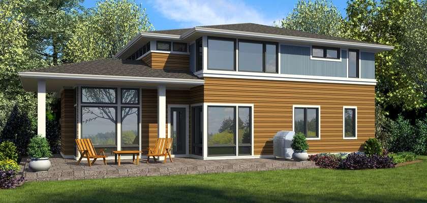 Mascord House Plan 22217: The Beaufort