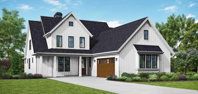 Mascord House Plan B22219: The