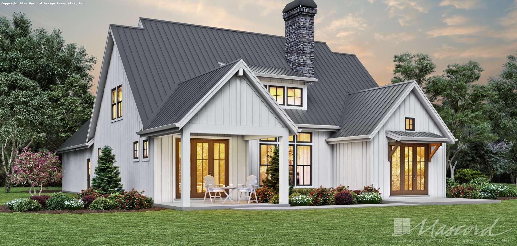 Mascord House Plan 22219A: The Bayliss