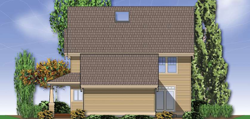Mascord House Plan B2229: The Pennington