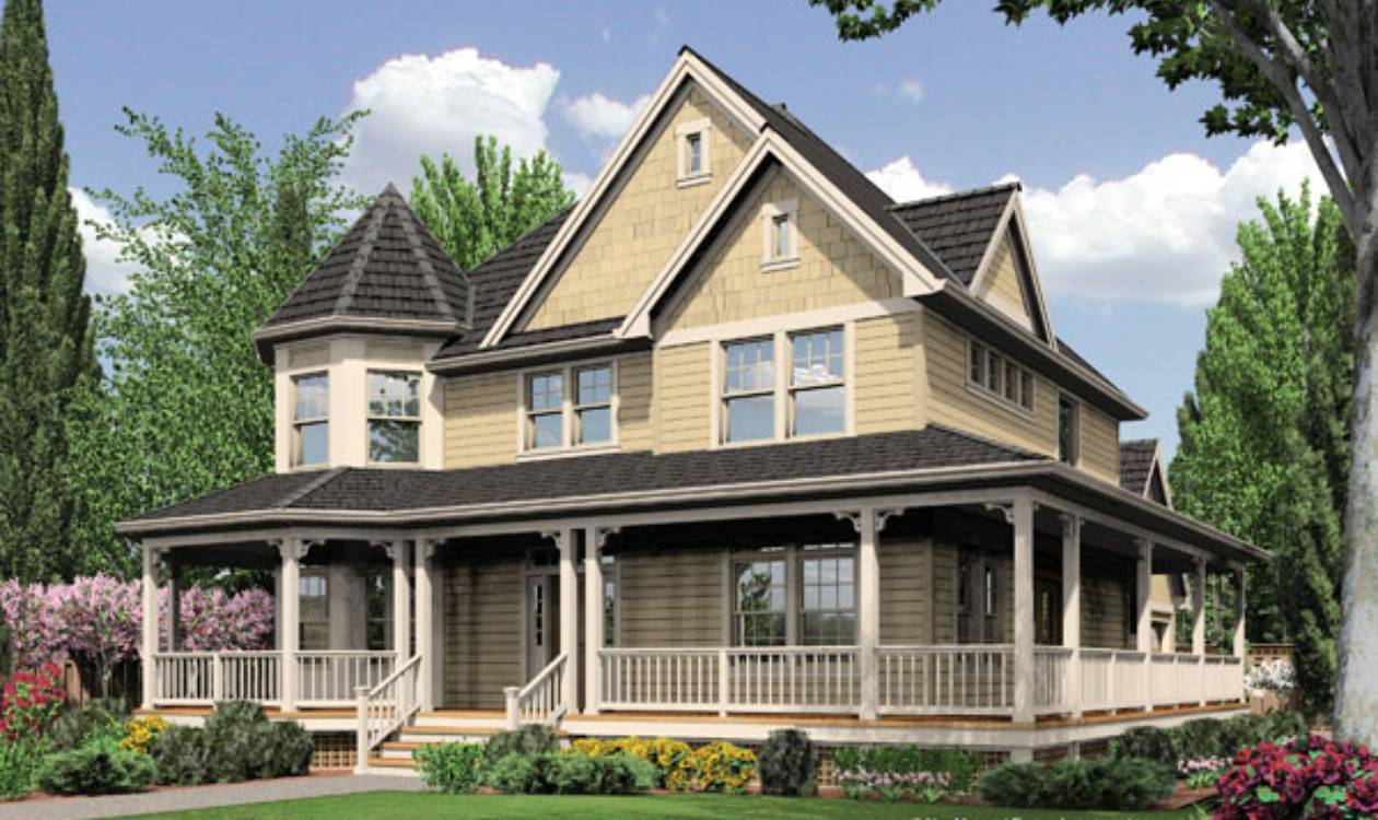 House plans choosing an architectural style for Victorian style house