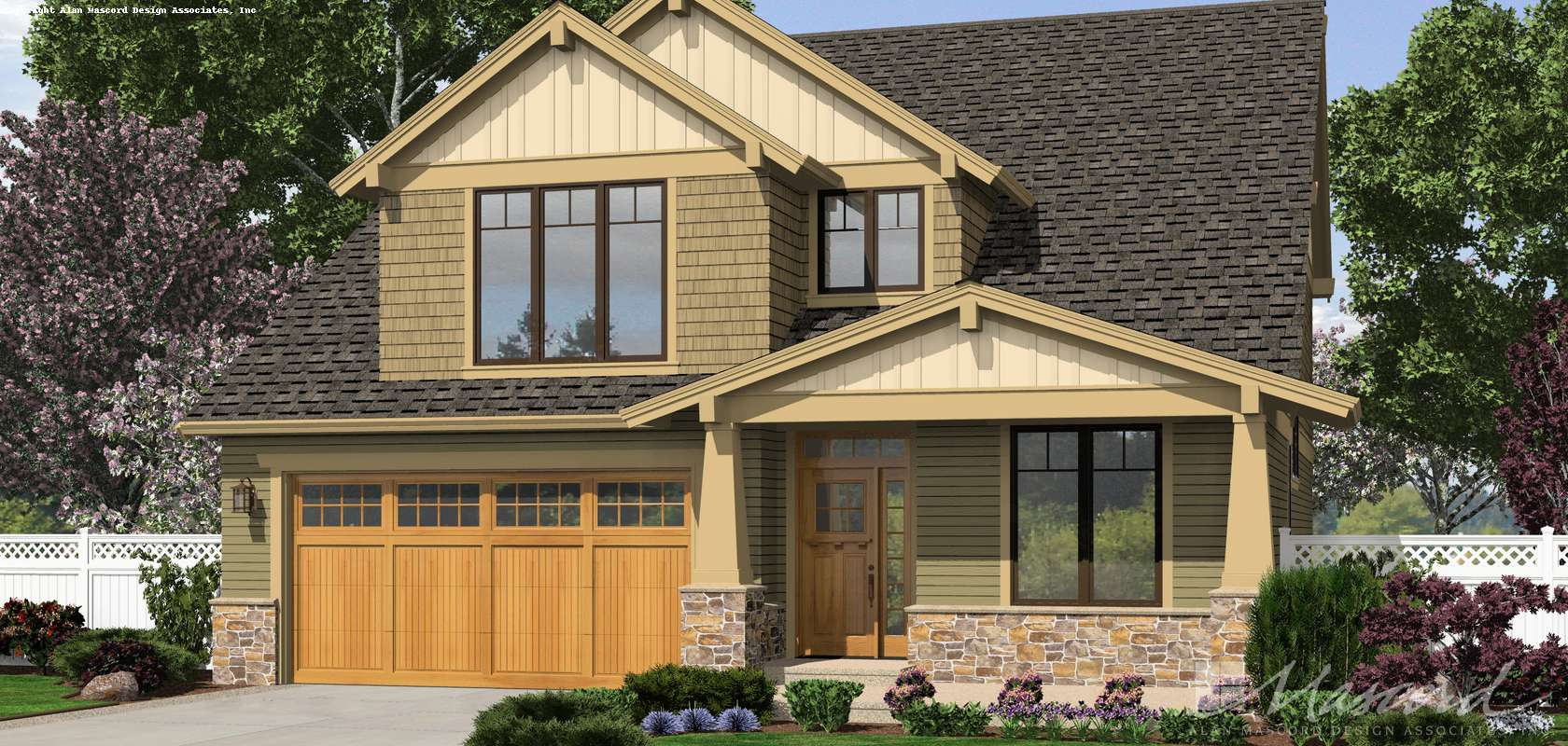 Mascord House Plan 2230CD: The Olympia