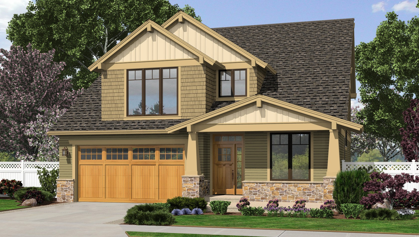 Main image for house plan 2230CD: The Olympia