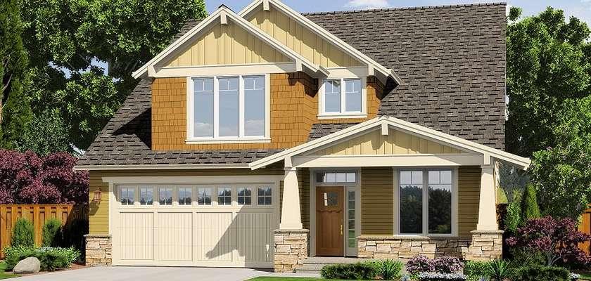 Mascord House Plan 2230CD: The Olympia