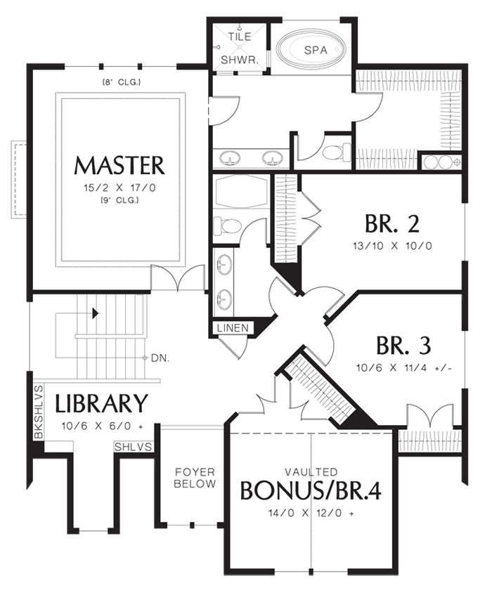 House Plan 2230CE -The Morecambe