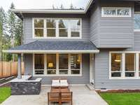 Rear Exterior by Windwood Homes