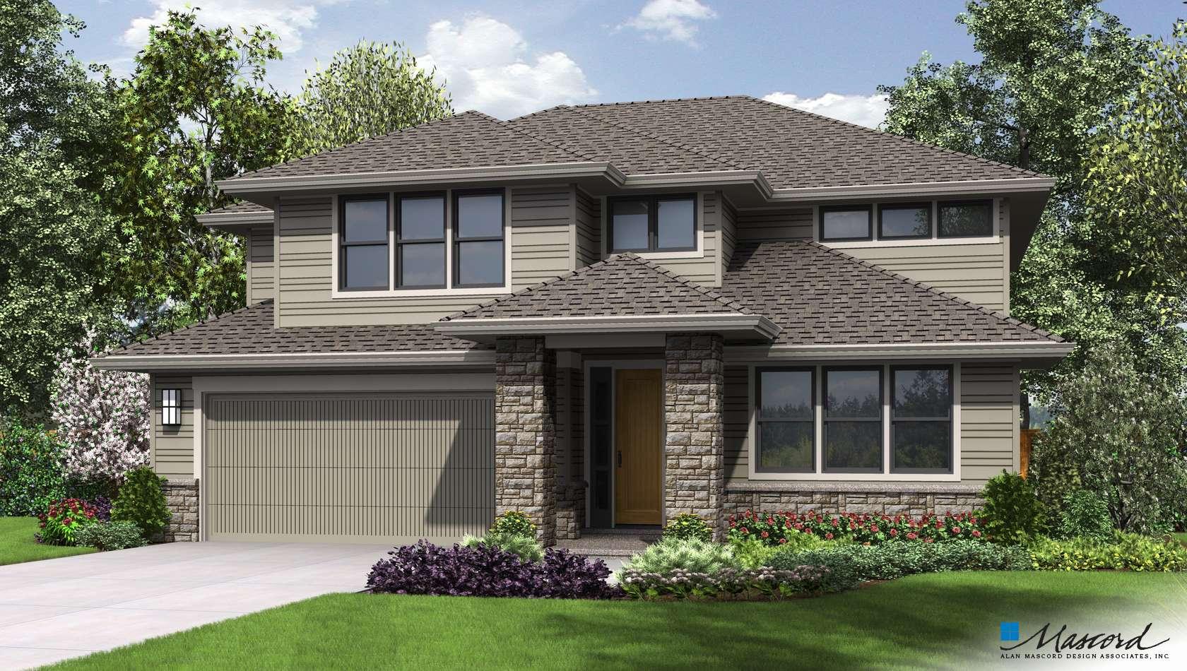 Main image for house plan 2230CG: The Gardena