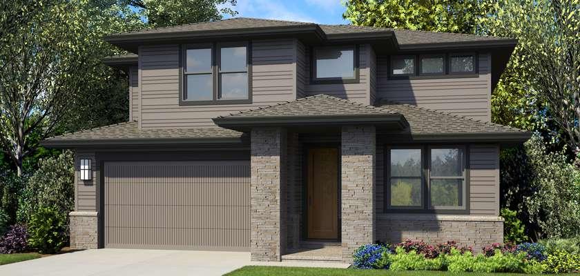 Mascord House Plan 2230CH: The Garden Grove