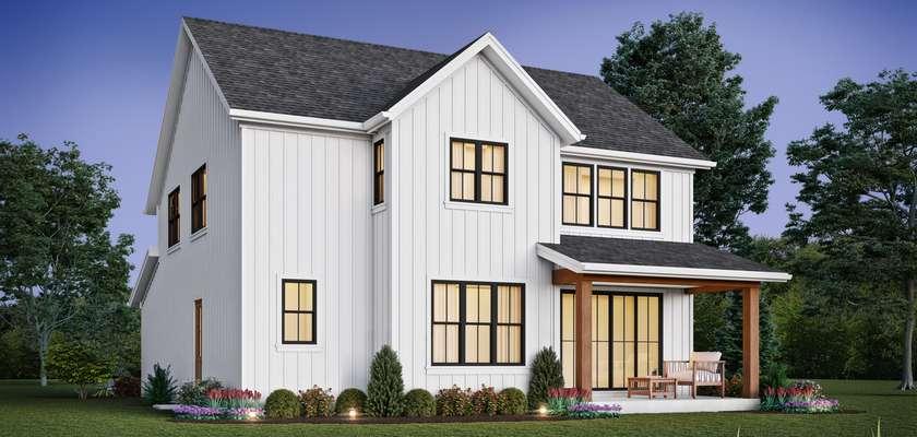 Mascord House Plan 2230H: The Riverholme