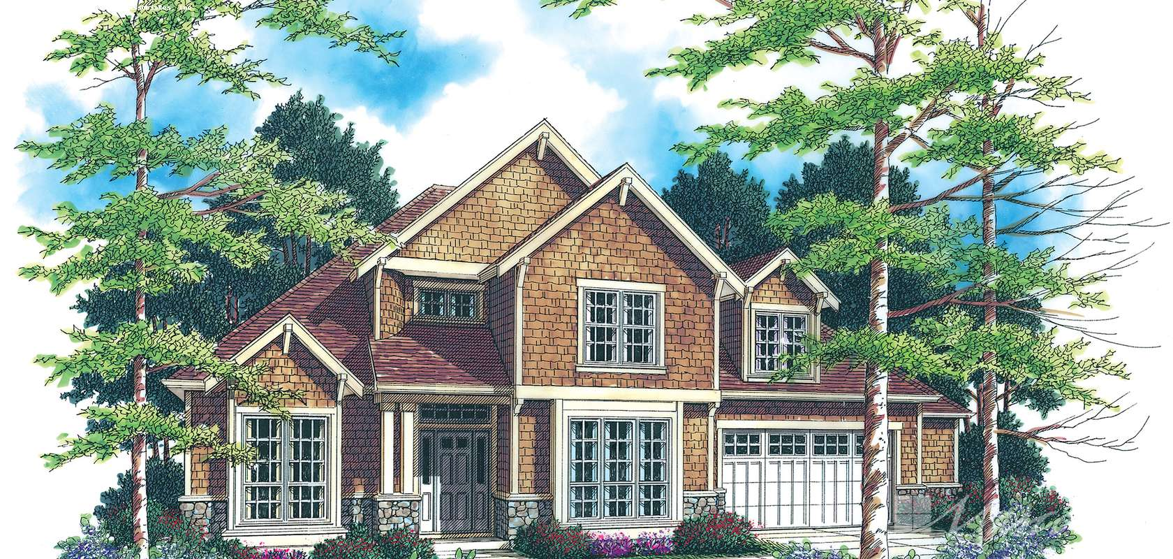 Mascord House Plan 2234B: The Roseland