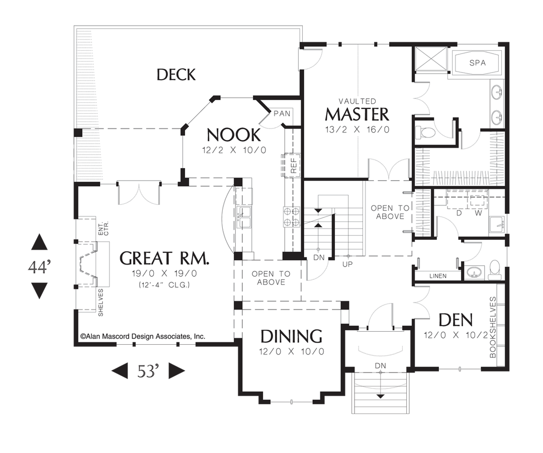 traditional house plan 2235 the richardson 2214 sqft 3 ForRichardson Homes Floor Plans
