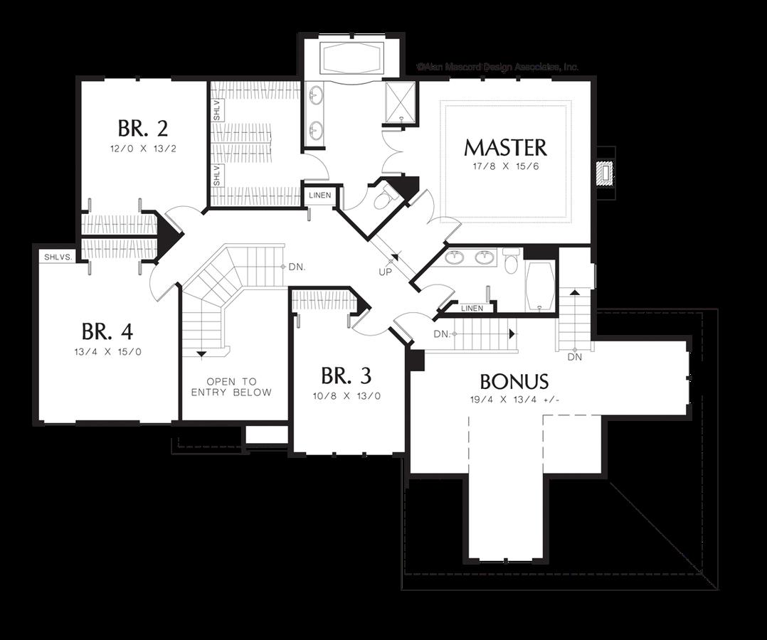 European house plan 2237k the braham 2886 sqft 4 for Functional house plans